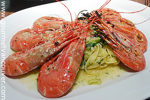 Spot Prawn Menu in Town 2 : Provence Marinaside Restaurant thumbnail