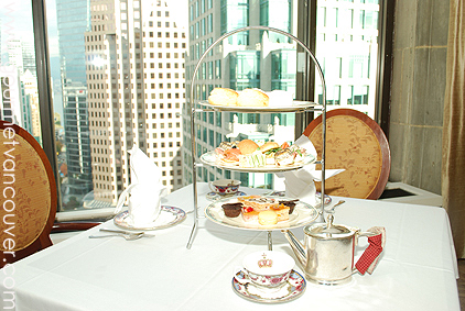 Tea at the Top @ Fairmont Hotel Vancouver thumbnail